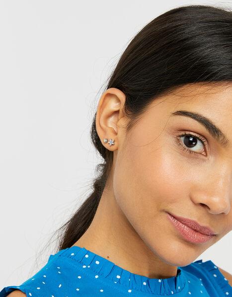 Sparkle Star Stud Earring Set, , large