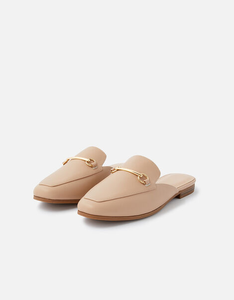 Backless Loafers Nude, Nude (NUDE), large