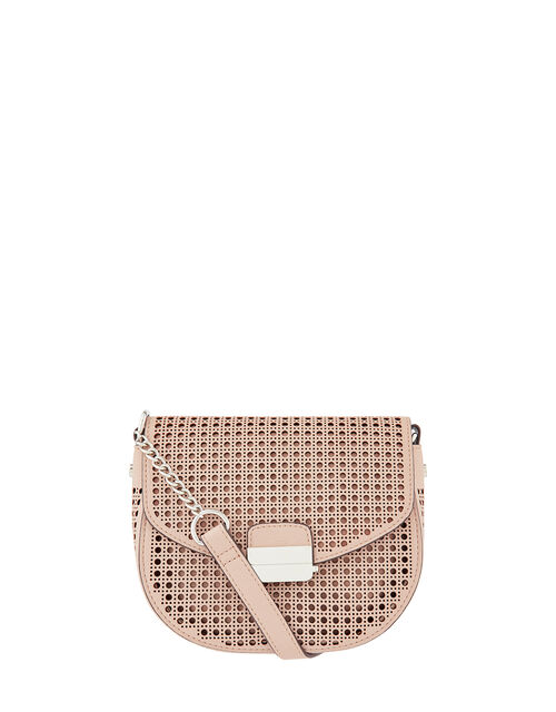 Punch-Out Cross-Body Bag, Nude (NUDE), large