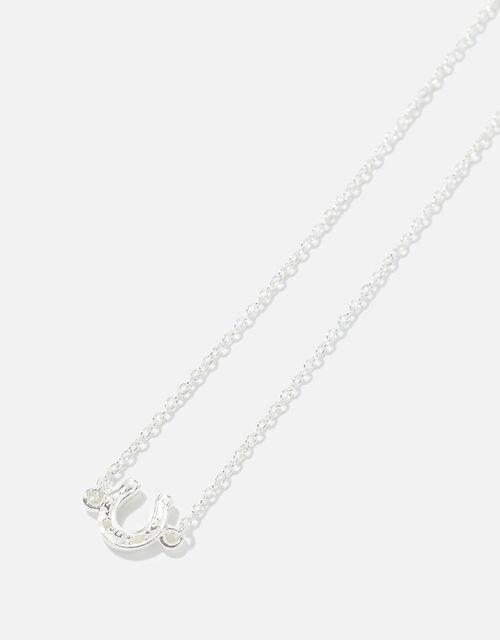 Sterling Silver Horseshoe Bracelet , , large