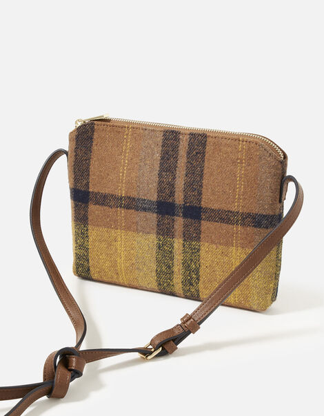 Carrie Check Cross-Body Bag, , large