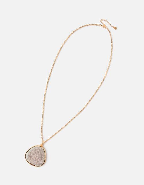 Large Ceramic Pendant Necklace, , large