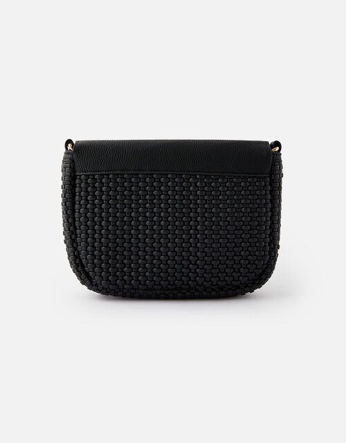 Leanne Weave Cross-Body Bag , Black (BLACK), large