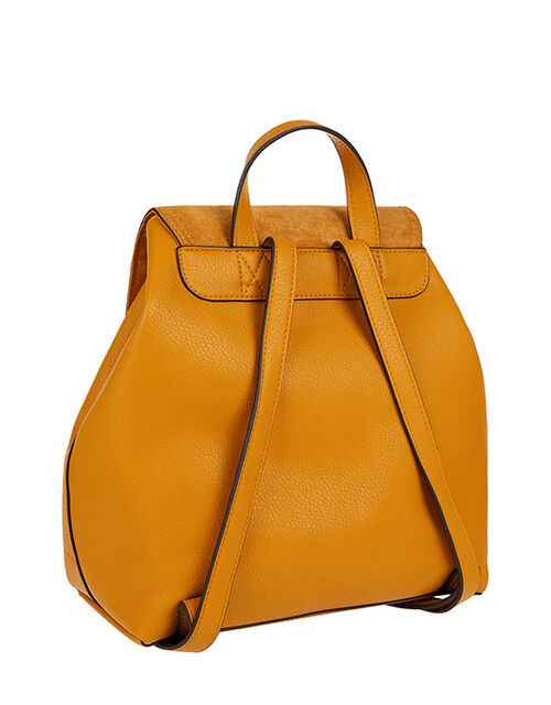 Kimmi Backpack, Yellow (OCHRE), large