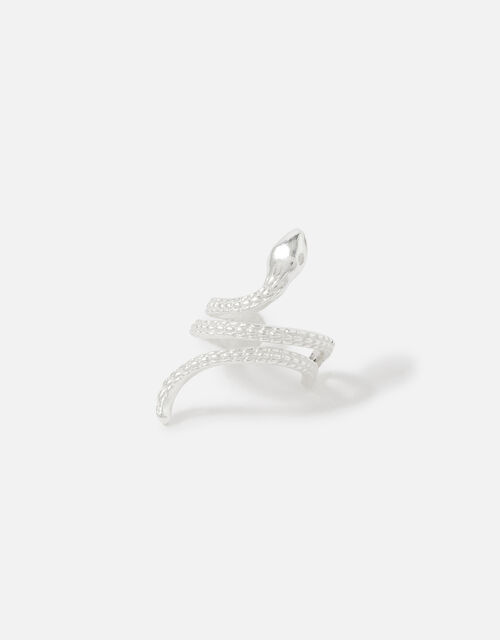 Sterling Silver Snake Ear Cuff, , large