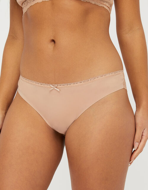 No VPL Brazilian Pants Multipack, Nude (NUDE), large
