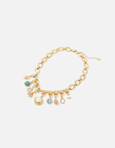 Meadow Muse Charmy Collar Necklace , , large