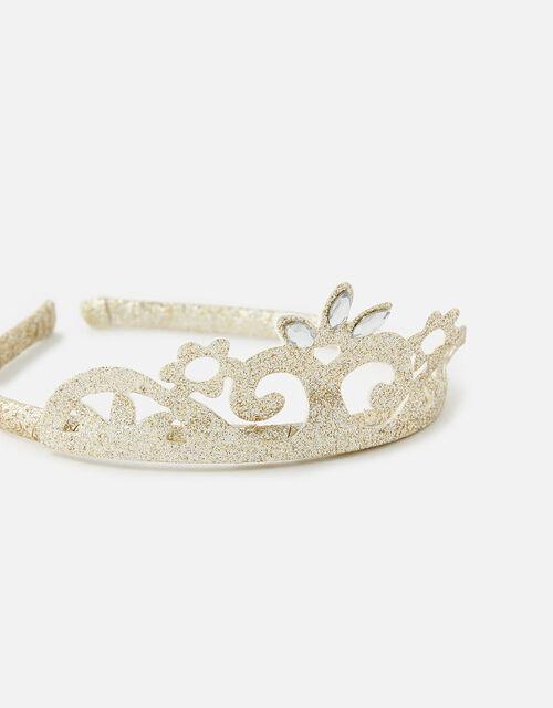 PU Sparkle Tiara Headband, , large