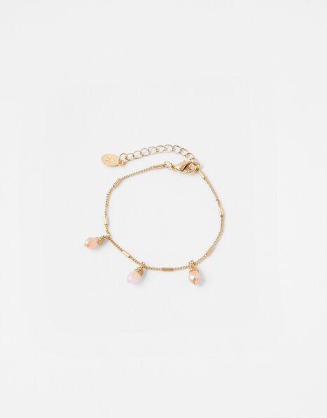Facet Bead Charm Bracelet, , large