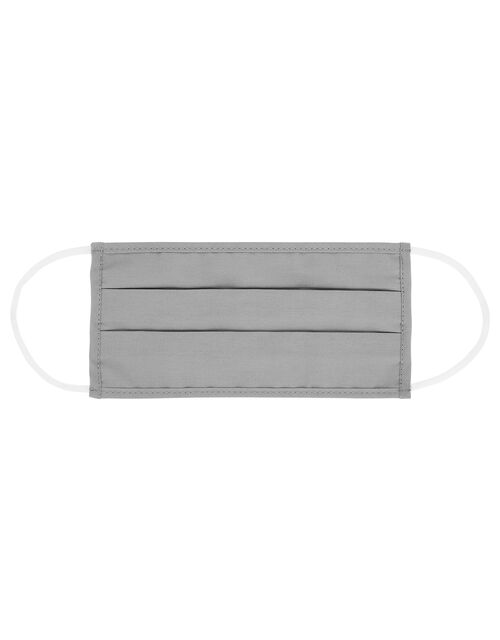 Face Covering in Pure Cotton, Grey (GREY), large