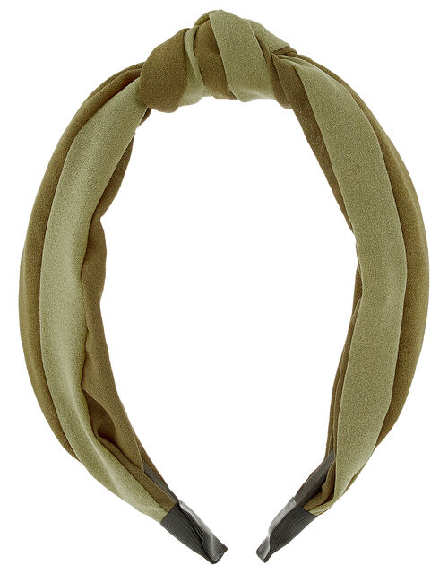 Two-Tone Knot Headband, , large