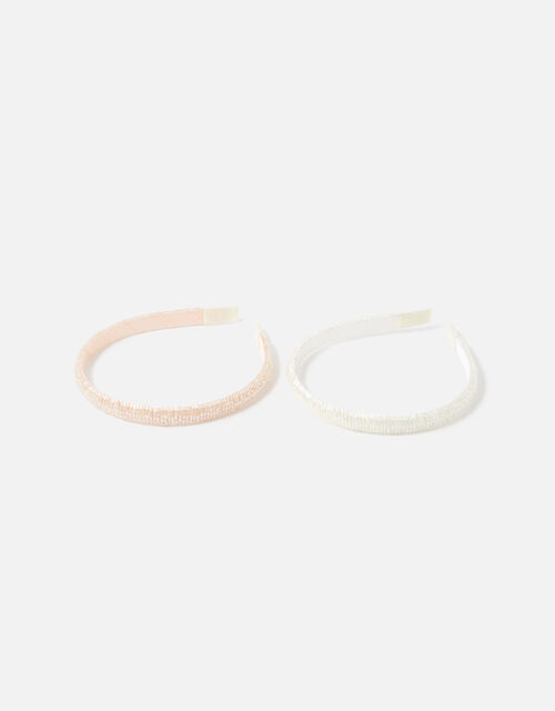 Beaded Headband Set , , large