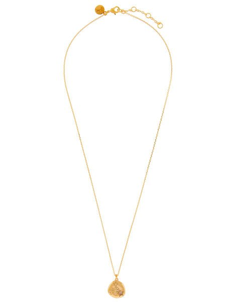 Gold-Plated Opal Zodiac Necklace - Taurus, , large