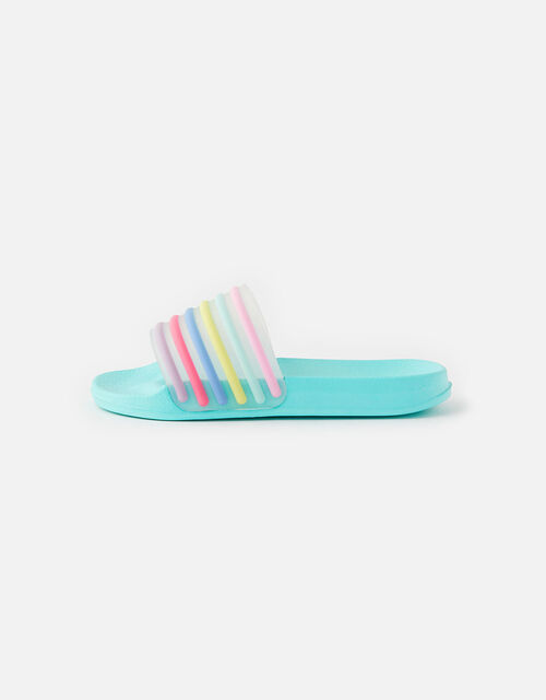 Rainbow Stripe Sliders, Multi (BRIGHTS-MULTI), large