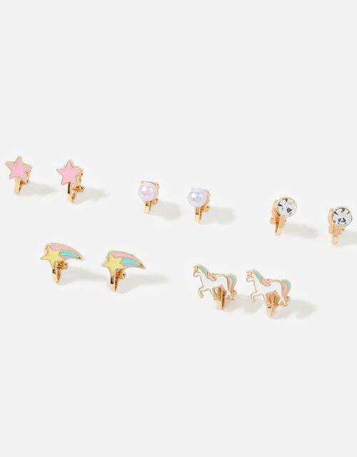 Unicorn Clip-On Earrings , , large