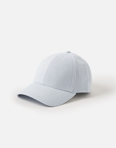Baseball Cap in Linen Blend, , large