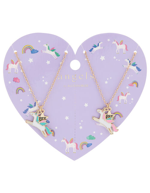 Unicorn Best Friend Necklace Set, , large