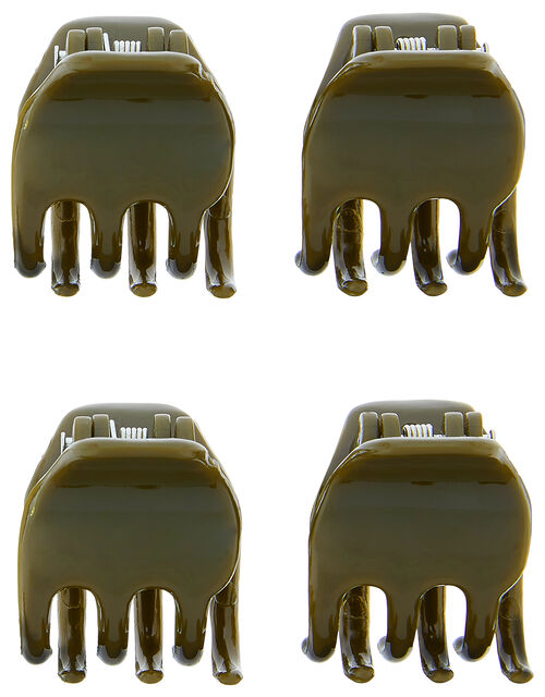 Basic Bulldog Hair Clip Set, , large