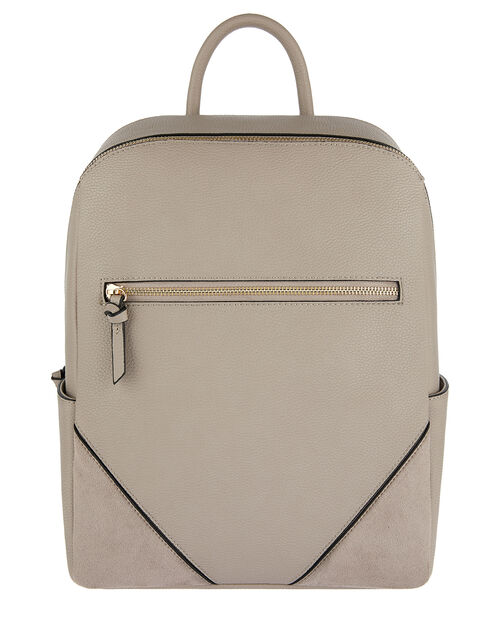 Judy Vegan Backpack, Grey (GREY), large