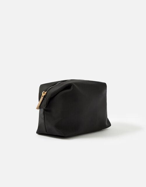 Nylon Pouch, Black (BLACK), large