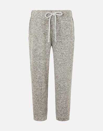Girls Marl Joggers Grey, Grey (GREY), large