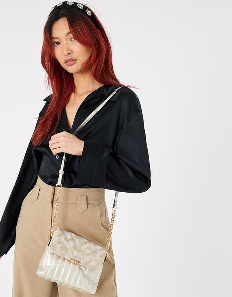 Snake Cross-Body Bag , , large