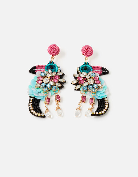 Island Vibes Talia the Toucan Earrings , , large