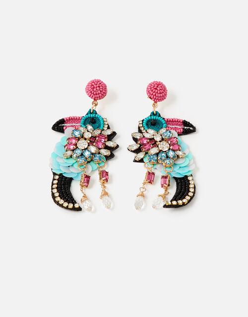 Island Vibes Talia the Toucan Earrings , , large