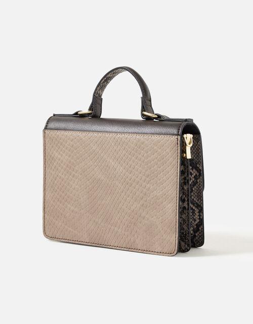 Bee Studded Handheld Bag, Multi (DARKS-MULTI), large