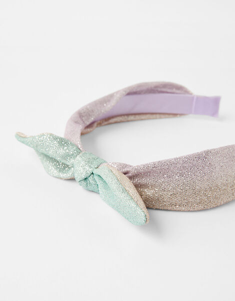 Bow Sparkle Headband, , large