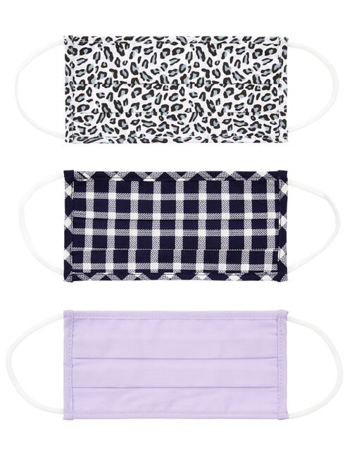 Face Covering Multipack in Pure Cotton, , large