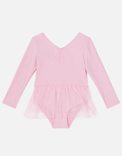 Girls Tutu Leotard Pink, Pink (PINK), large