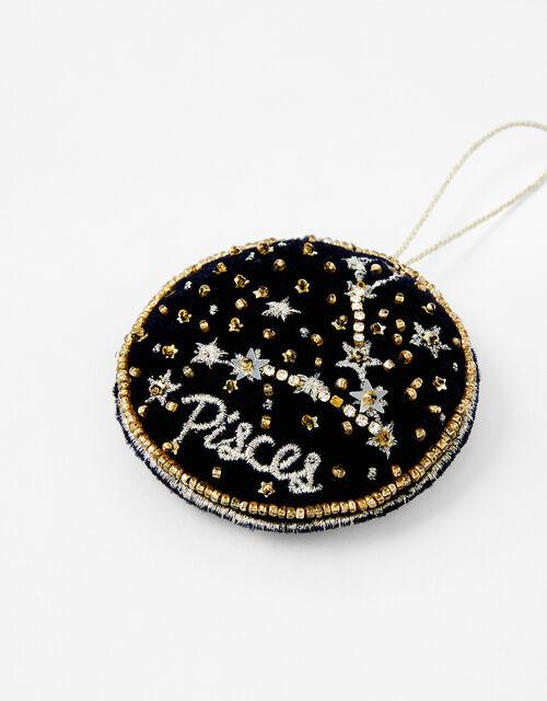 Star Sign Hanging Decoration - Pisces, , large