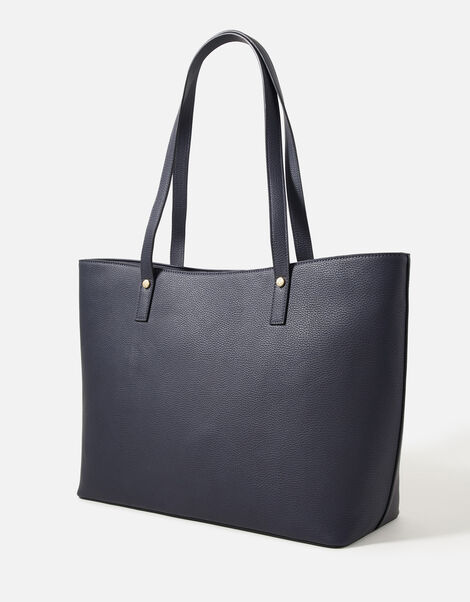 Toni Tote Bag with Pouch Blue, Blue (NAVY), large