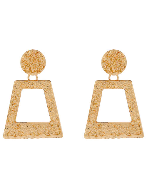 Molton Doorknocker Earrings, , large