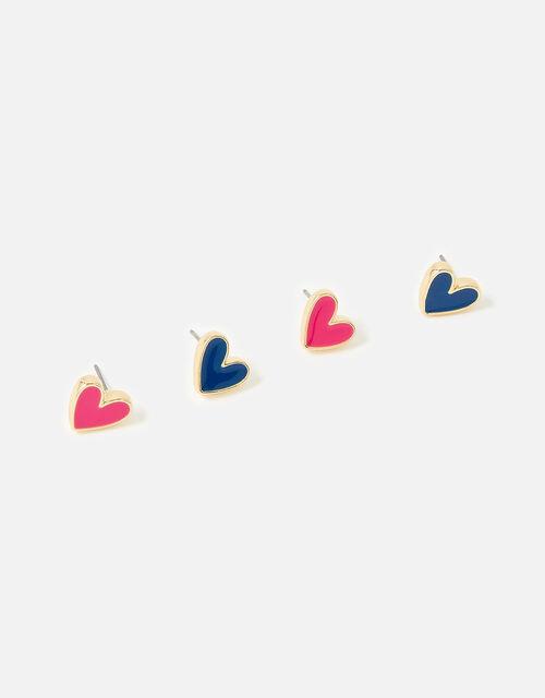 Feel Good Heart Stud Multipack, , large