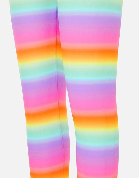 Rainbow Ombre Leggings Multi, Multi (BRIGHTS-MULTI), large