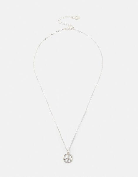 Peace Pendant Necklace, , large