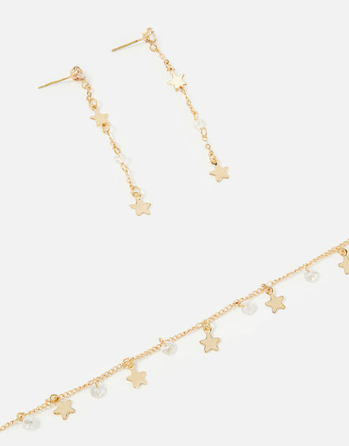 New Decadence Star Earring and Necklace Set, , large