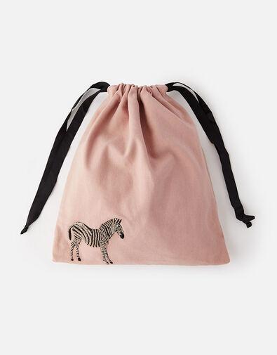 Zebra Drawstring Bag WWF Collaboration, , large