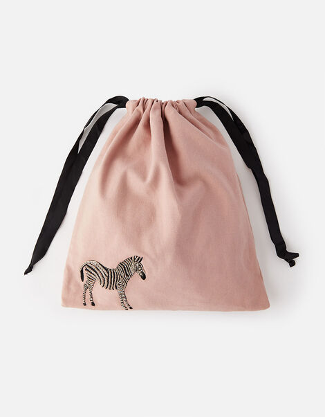 Zebra Drawstring Bag WWF Collaboration, , large