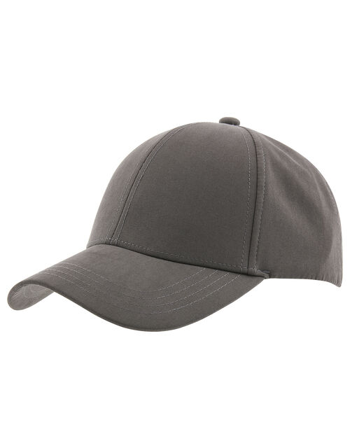 Jamie Plain Baseball Cap, Grey (GREY), large