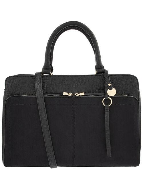 Maddie Work Bag, Black (BLACK), large