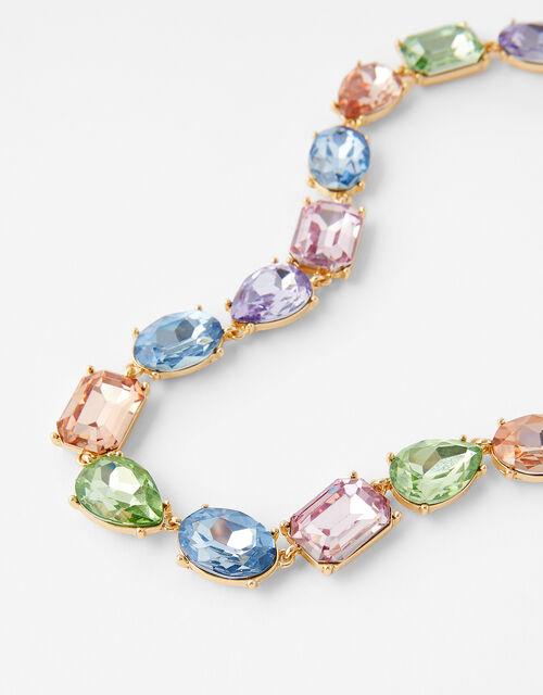 Ombre Gem Collar Necklace, , large