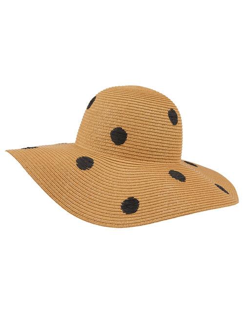 Polka Dot Floppy Hat, , large