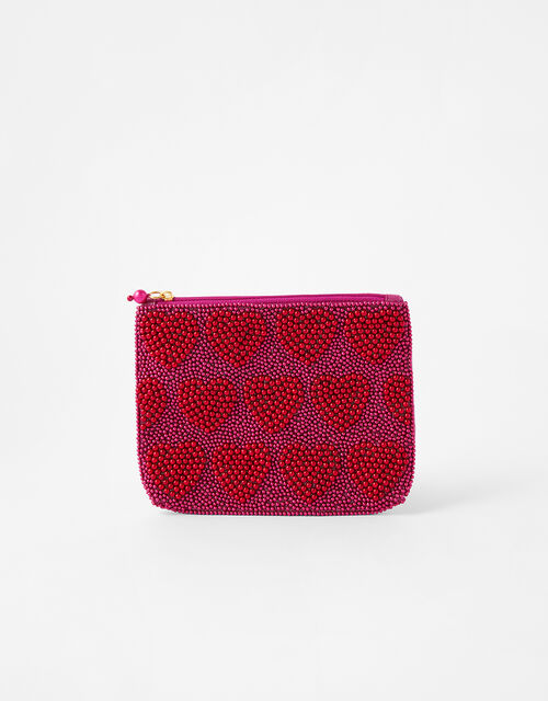 Harrie Valentine's Beaded Pouch, , large