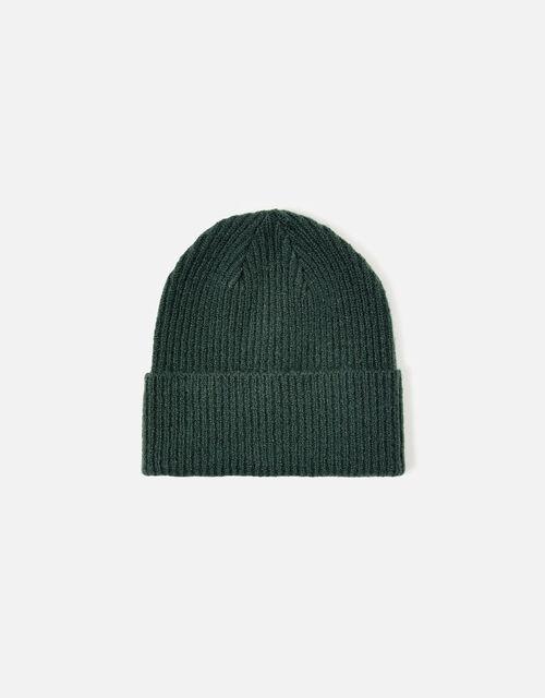 Soho Knit Beanie Hat, Green (GREEN), large