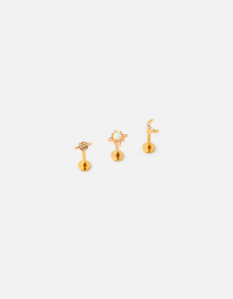 Planet Flat-Back Stud Set, , large