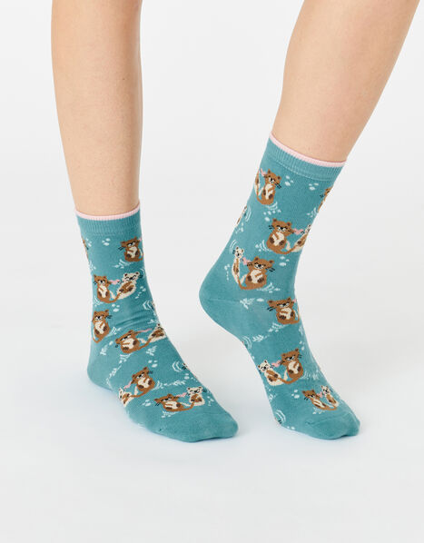 Otterly in Love Socks, , large