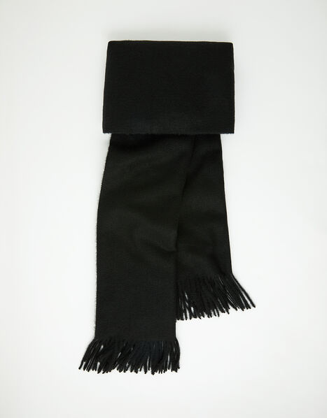 Holly Super-Soft Blanket Scarf Black, , large